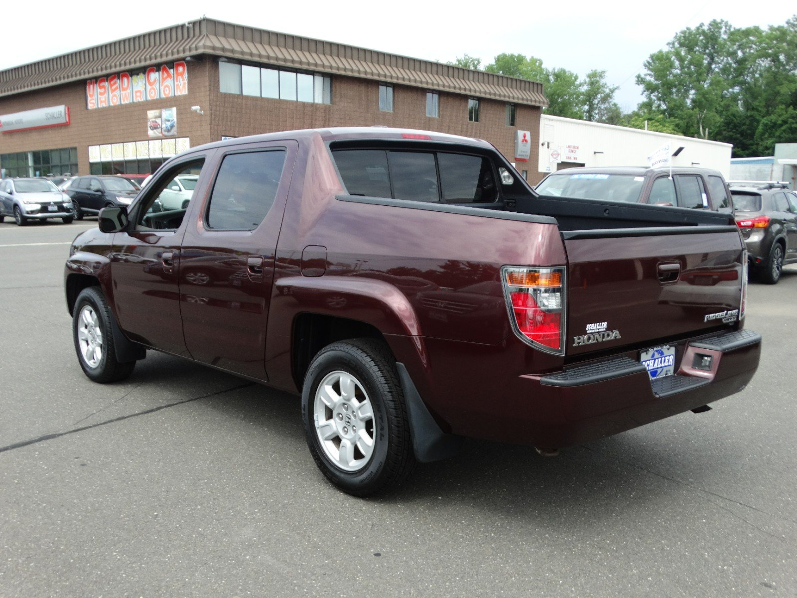 Pre owned 2007 honda ridgeline rtl with leather
