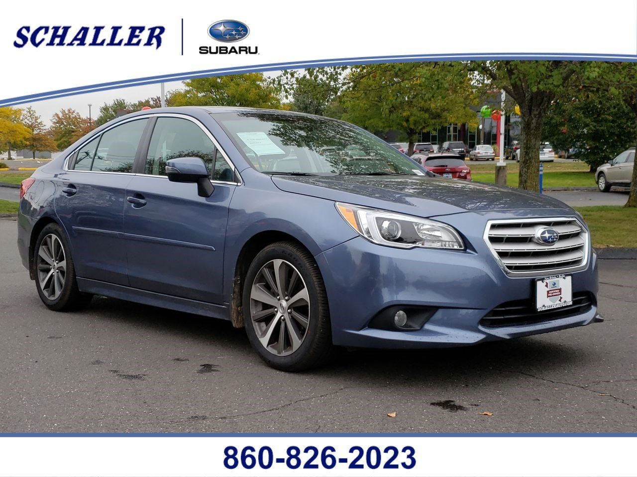 Certified Pre-Owned 2016 Subaru Legacy 2.5i Limited