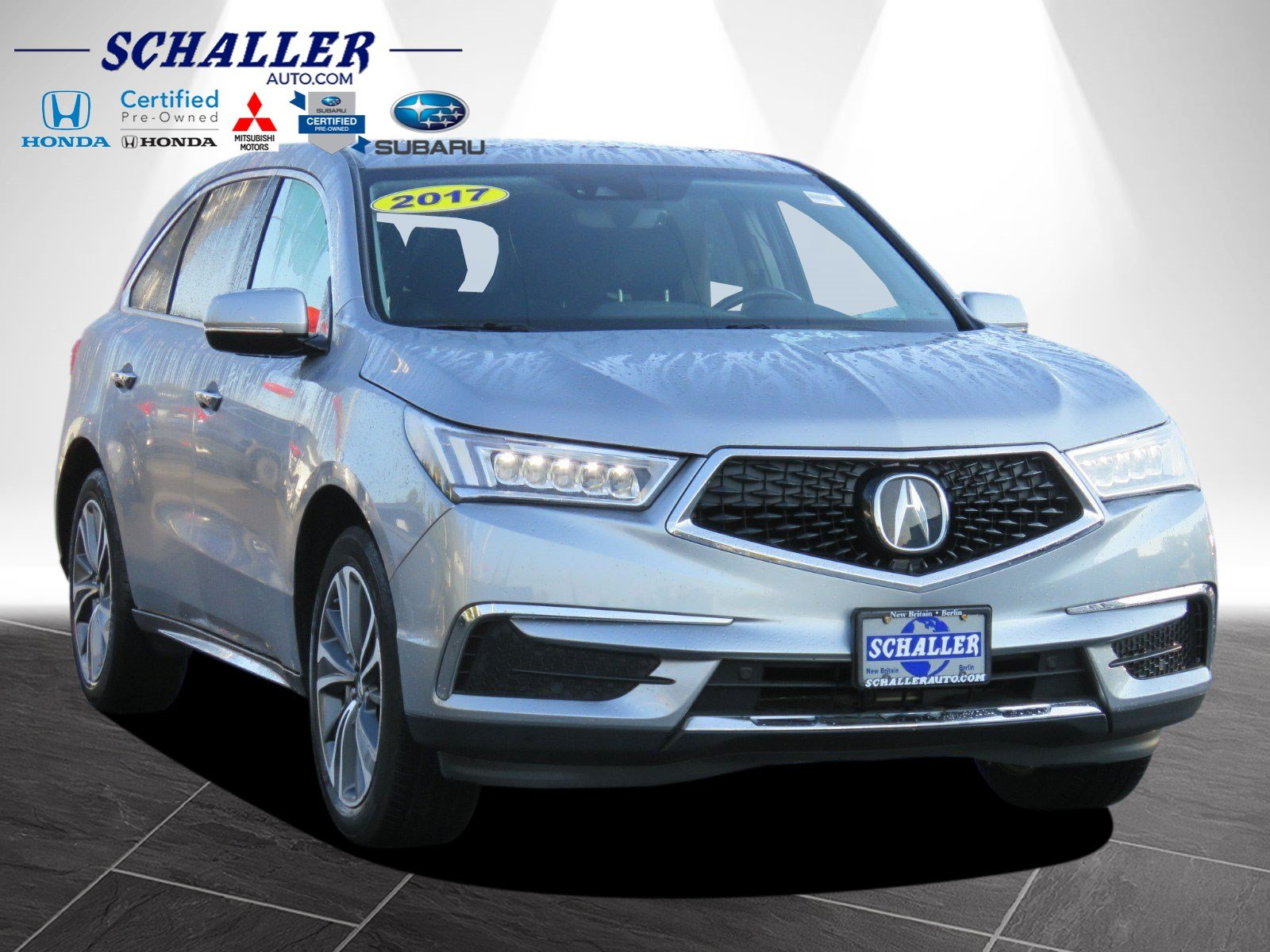 Pre Owned 2017 Acura MDX with Technology Pkg Sport Utility in New