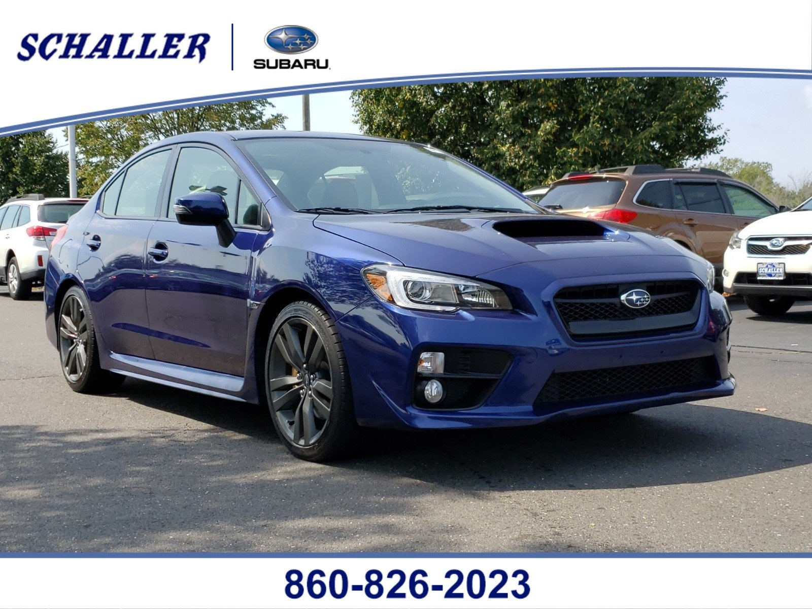 Certified Pre-Owned 2017 Subaru WRX Limited