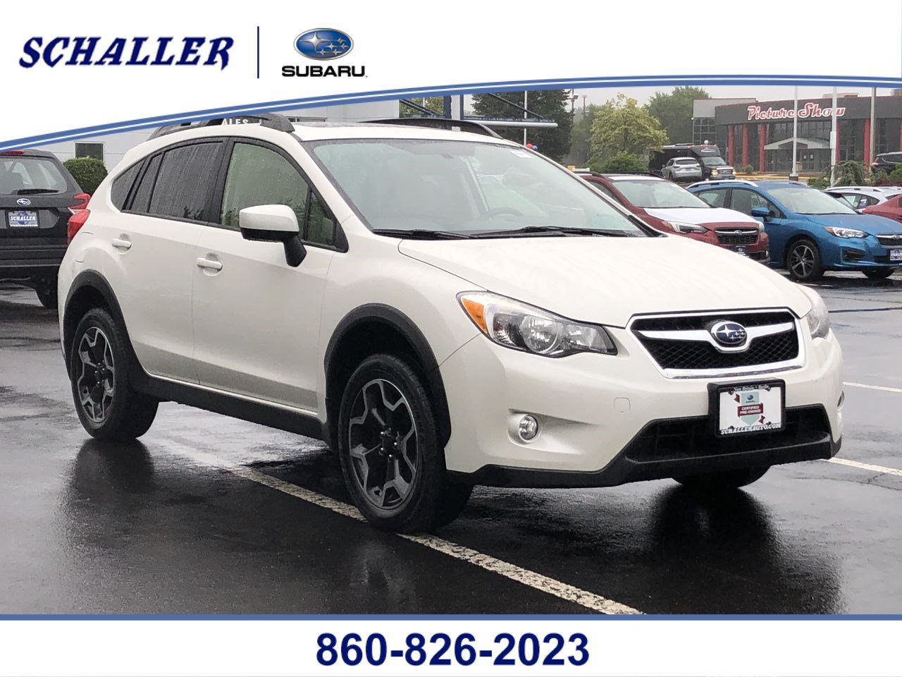 Certified Pre-Owned 2015 Subaru XV Crosstrek Premium