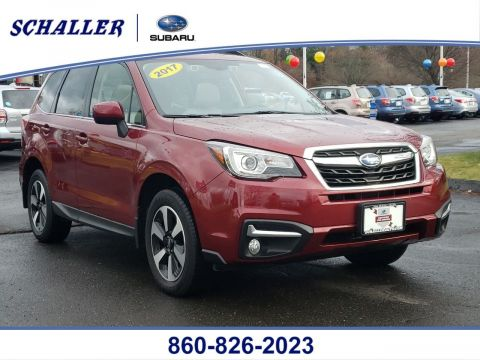 Certified Pre-Owned 2017 Subaru Forester Limited
